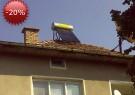 Соларен бойлер 110 л. под налягане, монтиран в гр.Земен. Поръчката е с 20 % безвъзмездна помощ от цената - по програмите за енергийна ефективност на Прокредит банк.