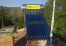 Solar hot-water system 110 l under pressure - Tsatsarovtsi village, Municipality Dragoman.