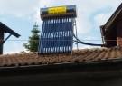 Solar water heater, 150 liters, with vacuum tubes, under pressure - Jeleznitsa village, reg. Sofia