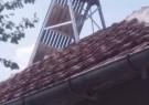 Solar hot water heater - thermosiphon type 110 liters - German village, Sofia area