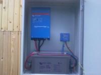 Автономна соларна система - 1 kW off grid, панели TPS 225 W
